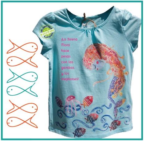 sirena con medusa